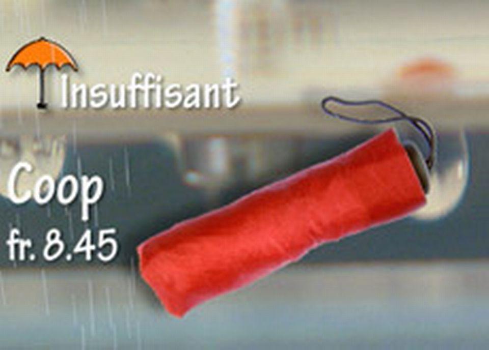 Quand la réputation des parapluies prend l'eau !