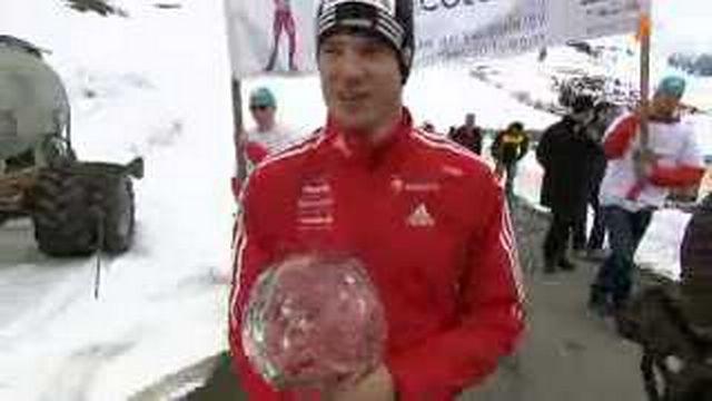 Ski de fond / Coupe du Monde: Dario Cologna a été fêté comme il se doit