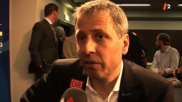 Football / Bundesliga: réactions de Lucien Favre et d'Alexander Frei à l'issue du match Hertha Berlin - Borussia Dortmund