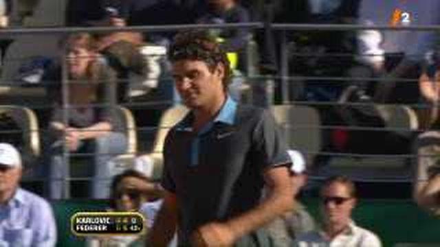 Tennis / Masters 1000 de Rome: Wawrinka et Federer qualitfés en 8ème de finale