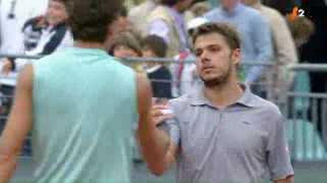 Tennis / ATP Rome: Stanislas Wawrinka échoue face Juan Martin Del Potro