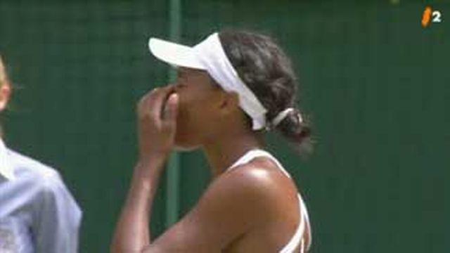 Tennis / Wimbledon: Venus Williams s'est inclinée face à sa cadette Serena qui marque 7-6, 6-2