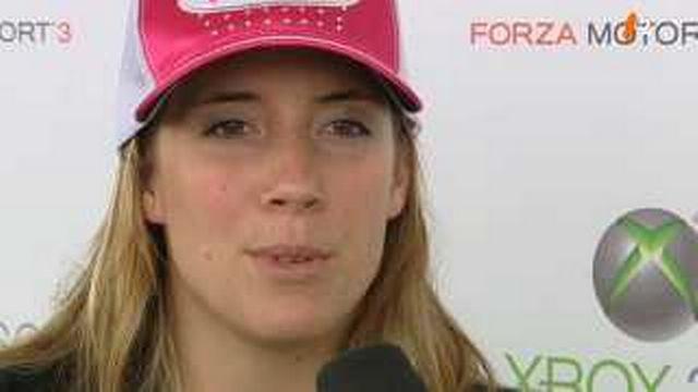 Automobile: portrait de Natacha Gachnang, cousine de Sébastien Buemi et seule pilote féminin de Formule 2