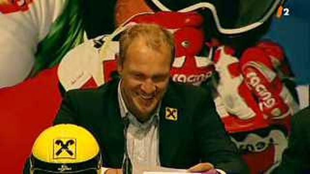 Ski: Hermann Maier annonce sa retraite internationale lors d'un discours rempli d'émotion