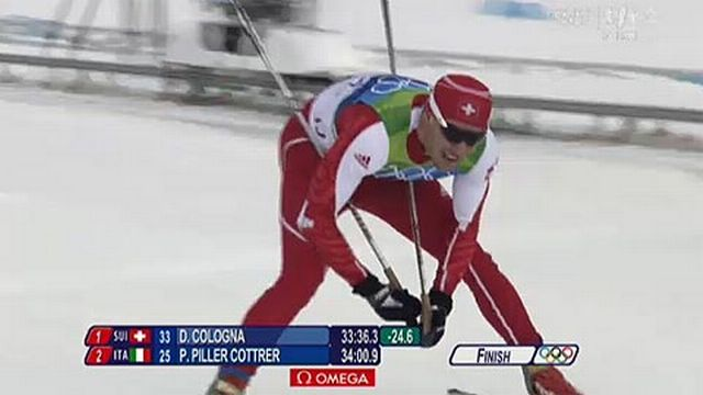JO Vancouver: Ski nordique - 15 km classique, messieurs - Dario Cologna