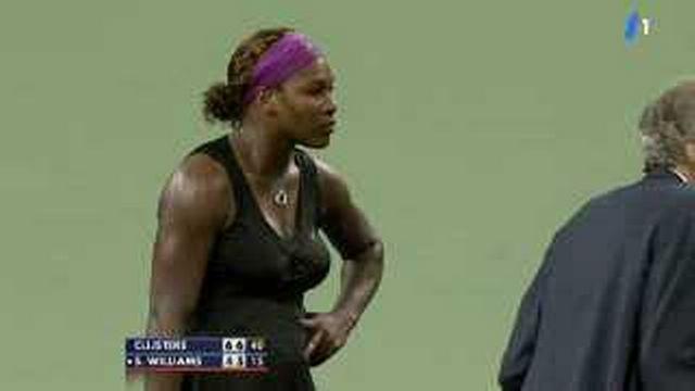 Tennis / US Open: retour sur l'incident qui a eu lieu entre Serena Williams et Kim Clijsters