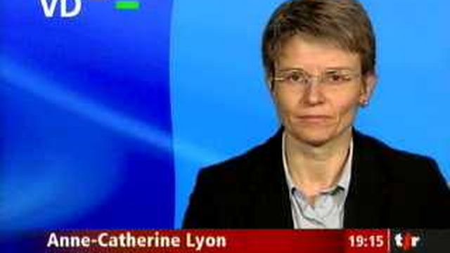 Méthode Alpha: entretien avec Anne-Catherine Lyon, conseillère d'Etat vaudoise en charge de l'éducation, en direct de Lausanne
