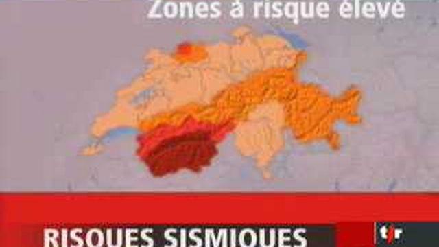 La Suisse peu exposée mais aussi peu préparée aux séismes