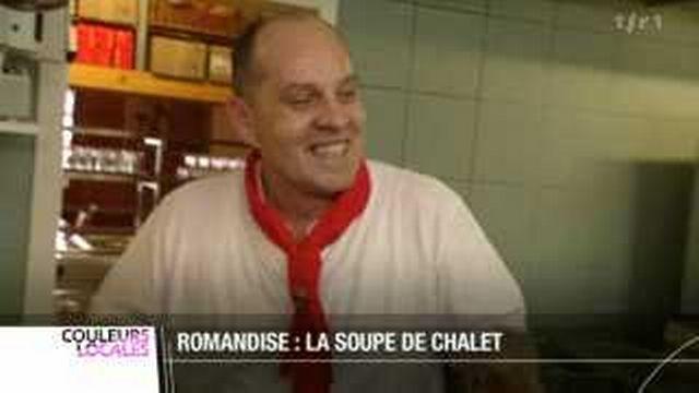 Romandises: la soupe de chalet
