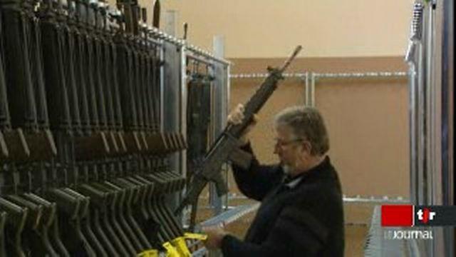 Les Suisses voteront probablement sur le maintien ou non de l'arme de service à domicile