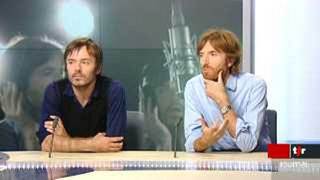 Les invités culturels: Nicolas Godin et Jean-Benoît Dunckel, du groupe Air
