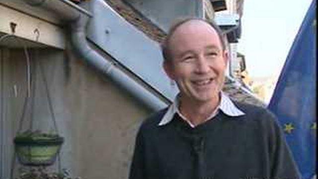 Portrait de Jean-Philippe Allenbach, candidat franco-suisse malheureux à l'élection présidentielle française