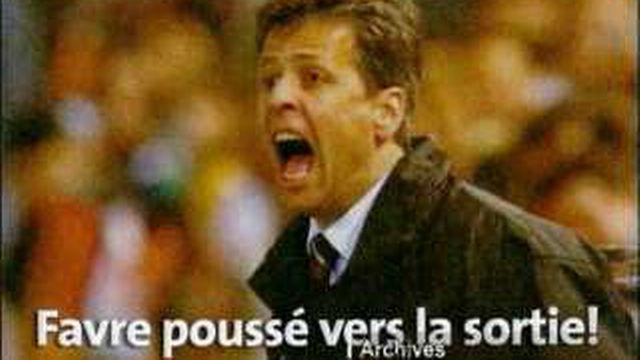 Le FC Servette s'est séparé de son entraîneur Lucien Favre