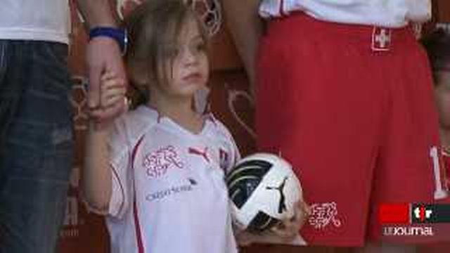 L'Association Suisse de Football présente son nouveau maillot pour la Coupe du monde