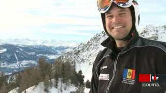 Ski: Christophe Roux, le fils du mythique descendeur Philippe Roux, sera au JO sous les couleurs moldaves