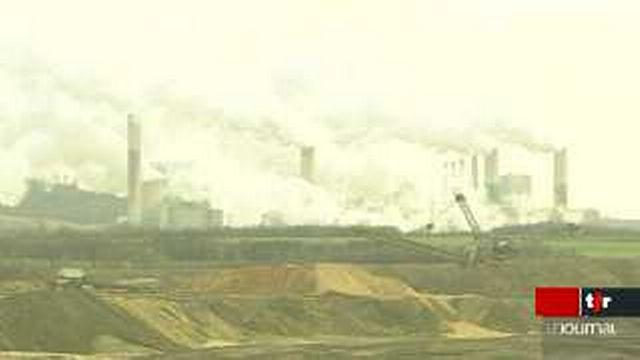 Emission de CO2: l'Allemagne produit une partie de son énergie avec des centrales au charbon hautement polluantes