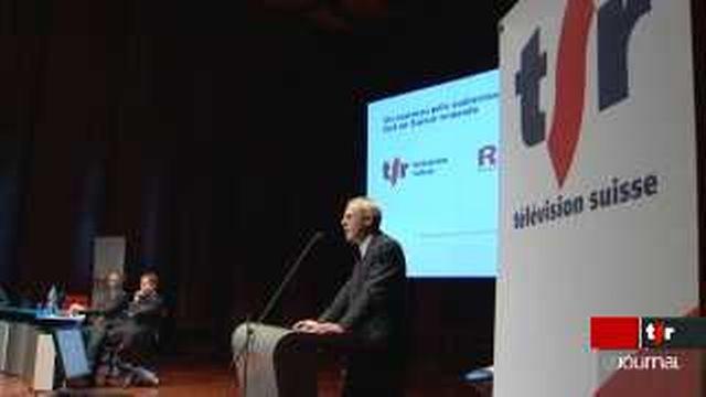 La TSR et la Radio Suisse Romande ne feront plus qu'un à partir de janvier 2010