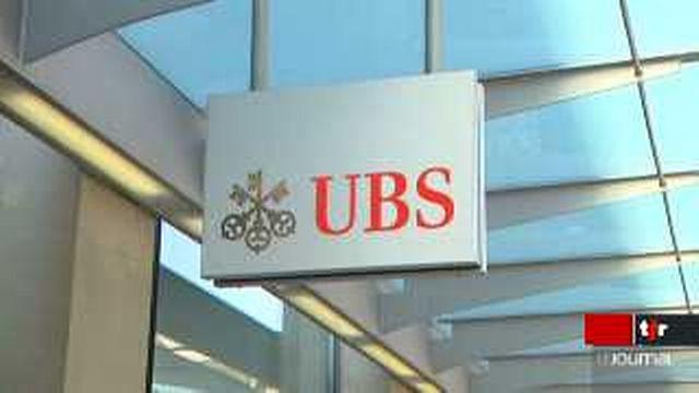 Situation financière de l'UBS: il y a un an, la Confédération volait au secours de la banque