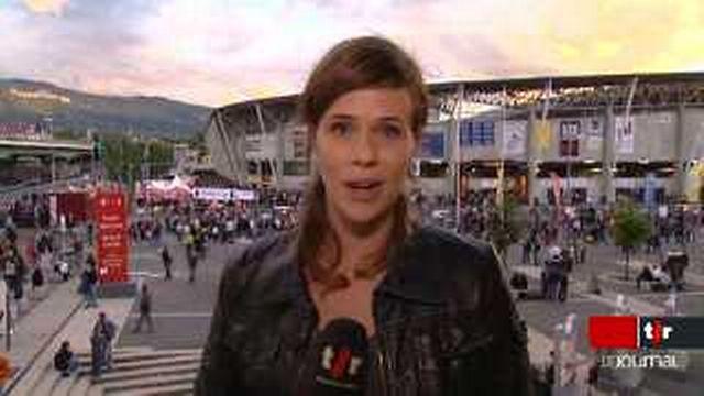 Concert de Mylène Farmer au stade de la Praille de Genève: le point avec Viviane Gabriel