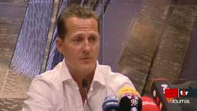 Formule 1: Michael Schumacher ne reprendra pas la compétition