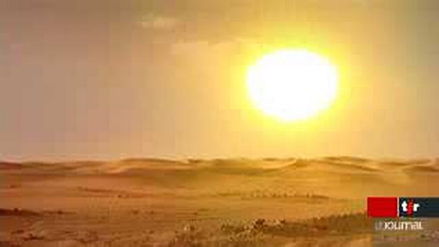 Energie solaire: un projet pharaonique dans le Sahara pour alimenter l'Europe