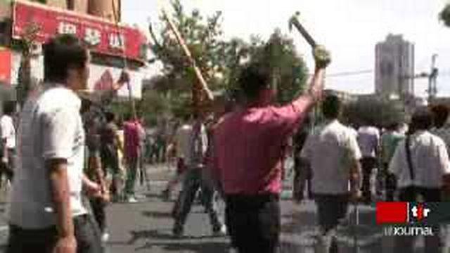 Chine: les affrontements ethniques se poursuivent dans la province du Zinjiang