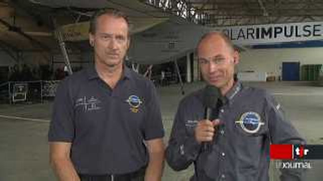 Présentation de l'avion solaire Solar Impulse: entretien avec Bertrand Piccard et André Borschberg