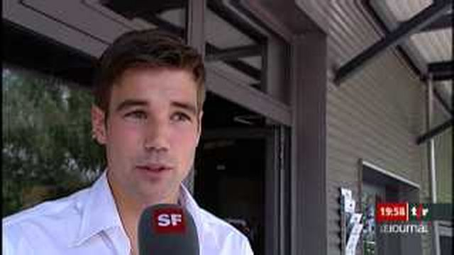 André Reithebuch, Mister Suisse 2009, brise un tabou en avouant être illettré