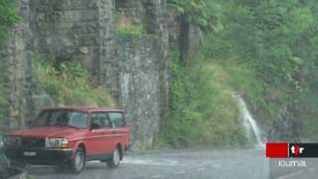 Le Tessin plongé sous le déluge