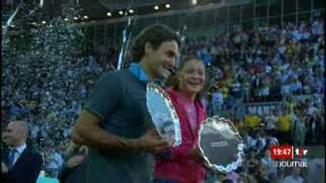 Tennis / ATP Madrid: Federer s'impose en finale contre Nadal (6-4, 6-4)