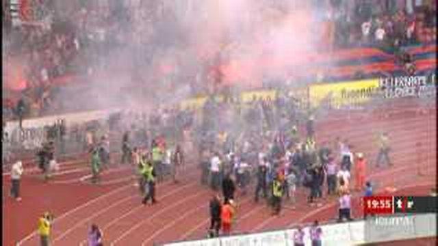 Zurich: de violents affrontements ont eu lieu lors d'un match de football contre Bâle