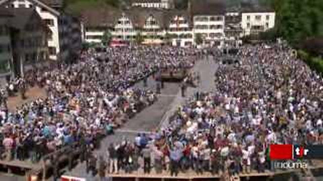 Landsgemeinde à Glaris: les votations continueront à se faire à main levée