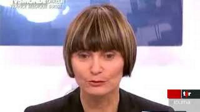 Micheline Calmy-Rey ne sait pas encore si elle se rendra à la Conférence contre le racisme
