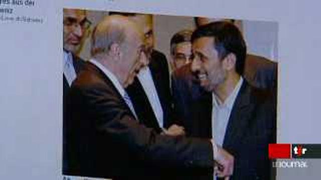 Mahmoud Ahmadinejad rencontre Hans Rudolf-Merz: Israël critique l'attitude de la Suisse