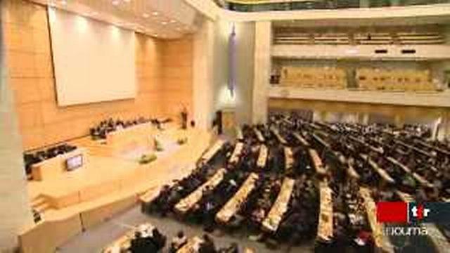La déclaration sur le racisme a reçu l'approbation précipitée à la conférence Durban II, mardi après-midi, à Genève