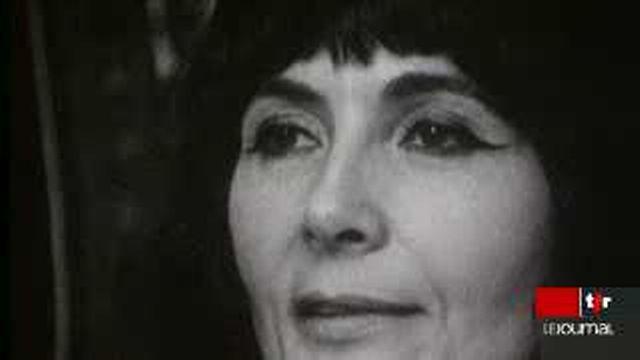 Portrait de Grisélidis Réal, prostituée et écrivain décédée il y a quatre ans