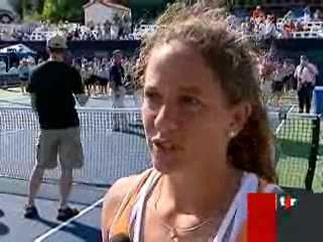 Tennis / Tournoi de San Diego: Patty Schnyder s'incline en finale face à Maria Sharapova