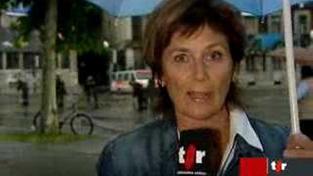 Evacuation du squat Rhino: les précisions de Françoise Chuard, en direct de Genève