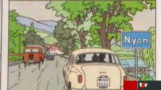 Tintin: les sources d'inspiration d'Hergé en Suisse romande