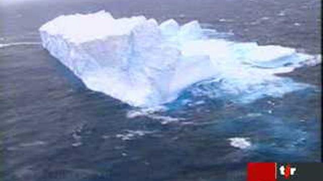 Climat: deux icebergs gigantesques longent les côtes néo-zélandaises