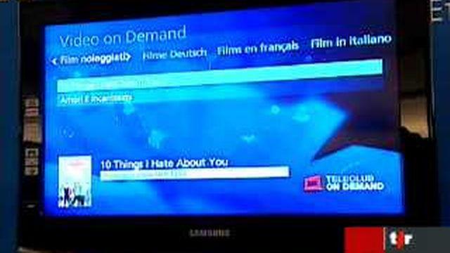 Swisscom se lance dans la télévision