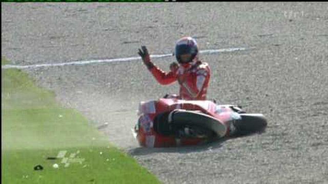 Motocyclisme / GP du Qatar: Casey Stoner analyse son rapport au danger