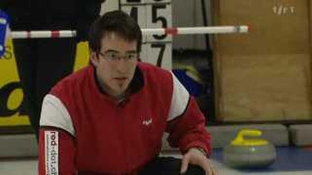 Curling: portrait de Kevin Foidevaux, skip de Lausanne Olympique