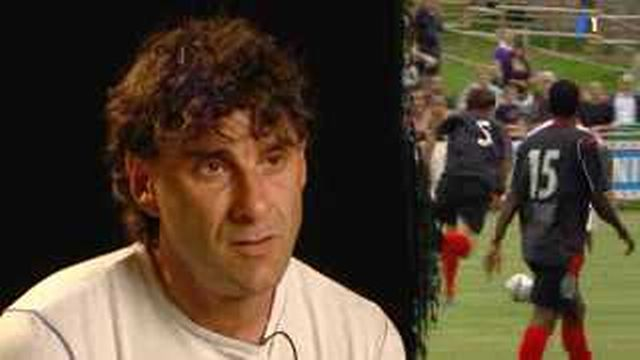 Football / Challenge League: entretien avec les entraîneurs D. Tholot (Sion) et P-A. Schurmann (Xamax)