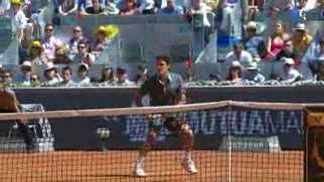 Tennis / ATP Madrid: Roger Federer remporte la finale contre Rafael Nadel (6-4, 6-4)