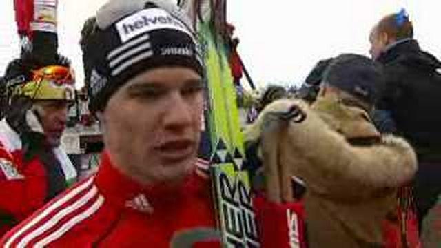 Ski de fond / Coupe du Monde: interview du vainqueur Dario Cologna