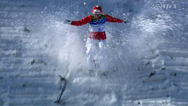 JO Vancouver / ski acrobatique: Evelyne Leu - Performance d'équilibriste