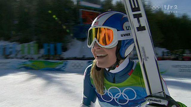 JO Vancouver: Ski Alpin - Descente dames - Lindsey Vonn