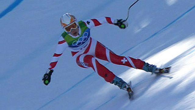 JO Vancouver: Ski Alpin - Descente dames - Nadia Styger (SUI)