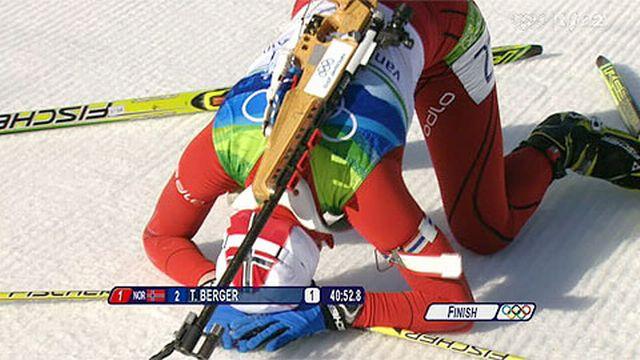 JO Vancouver: Biathlon – 15 km dames : Victoire de la Norvégienne Tora Berger partie 2e